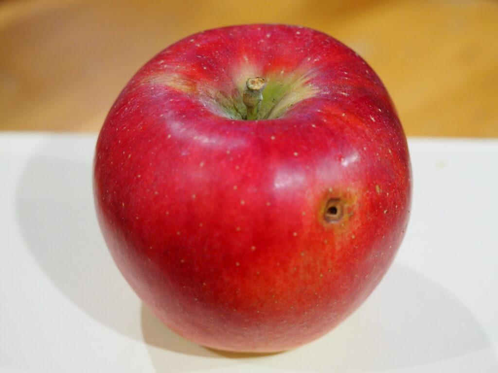 鳥突きリンゴ